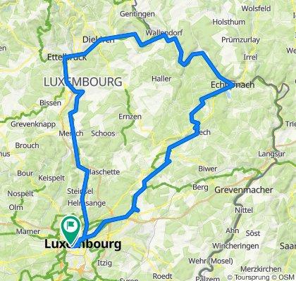 Echternach-Diekirch-Colmar Berg
