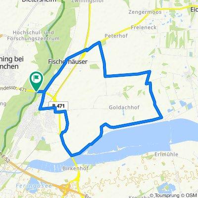 Gepflastertes Ackerland - Südschleife