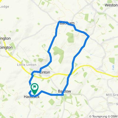 Briar Cottage, Moules Lane, Cambridge to Meadow House, Moules Lane, Cambridge