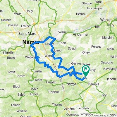 Namur 75 km