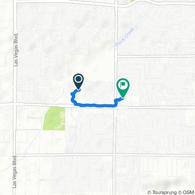 244 E Silverado Ranch Blvd, Las Vegas to 430 E Silverado Ranch Blvd, Las Vegas