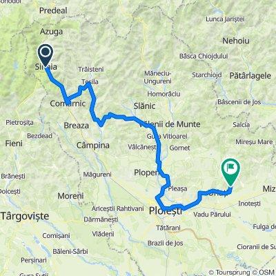 Sinaia - Valea Doftanei - Ploiesti