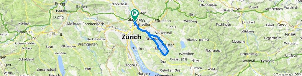 Glattbrugg- Greifensee- Glattbrugg