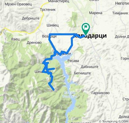 Kavadarci - Vozarci - Sheshkovo - Pravednik - Dobrotino - Bushani - Kavadarci