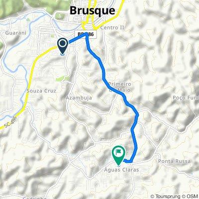 Caminhada lenta Brusque