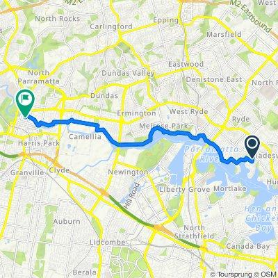 75 Tennyson Road, Tennyson Point to 30 Phillip Street, Parramatta