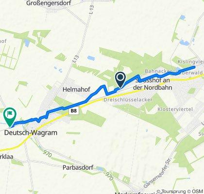 Dampfross und Drahtesel Deutsch Wagram Strasshof kurz