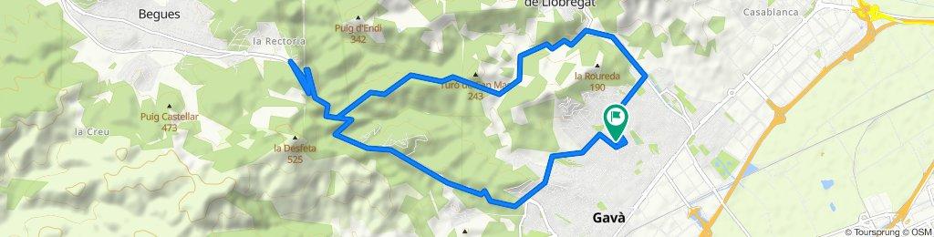 Viladecans-Begues (Ida-Vuelta)