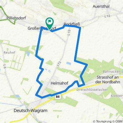Helmahof - Bockfliess Drahtesel angekratzt