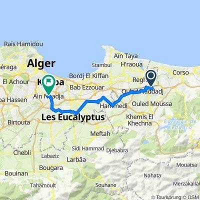 طريق النخيل, Ouled Hedadj to Algeria, Djasr Kasentina