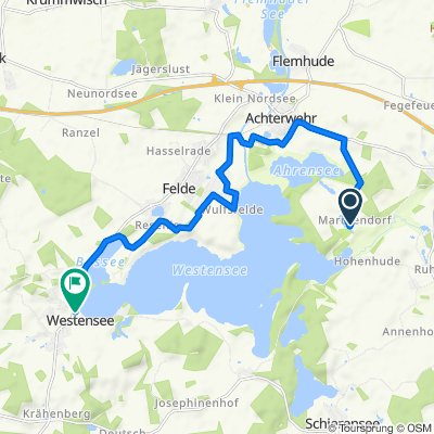 Entspannende Route in Achterwehr