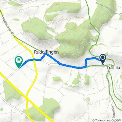 Moderate Route in Rudolfingen