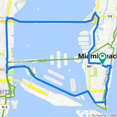 440 16th St, Miami Beach to 1542 Drexel Ave, Miami Beach