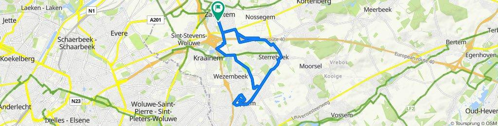 Itinéraire modéré en Zaventem