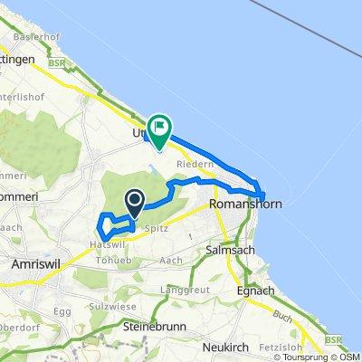 Route nach ÄL>Û?