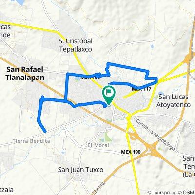 Ruta relajada en San Martín Texmelucan de Labastida
