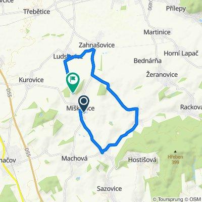 Easy ride in Míškovice