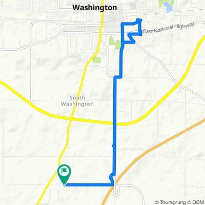 893 W 300 S, Washington to 893 W 300 S, Washington