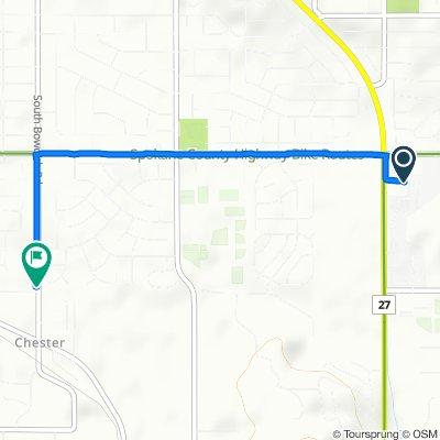Easy ride in Spokane Valley