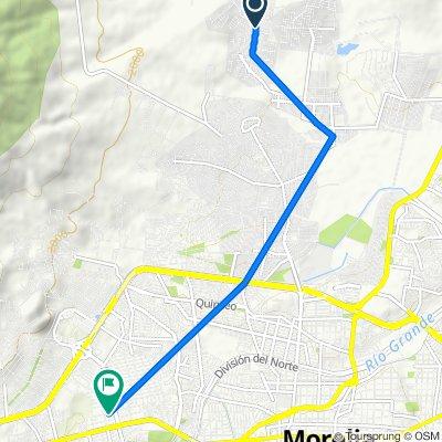 De Circuito Hacienda de Santiago 121 a Jorge Villarreal 98, Morelia