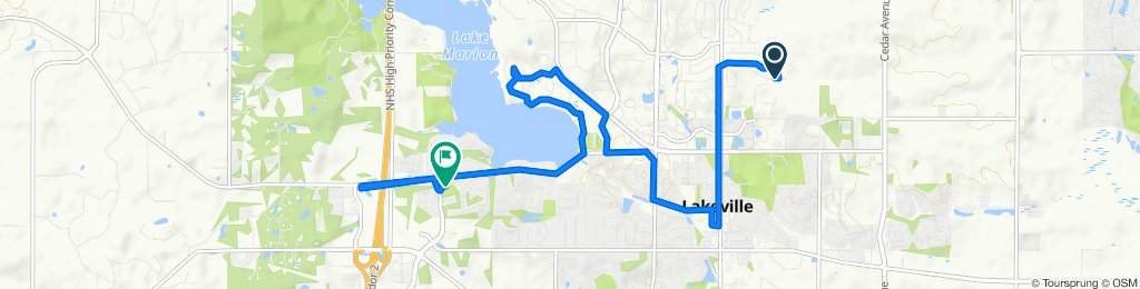 Relaxed route in Lakeville