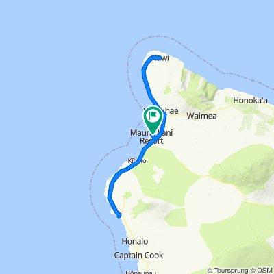 Kona Ironman Bike Route