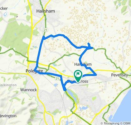 14 Lavant Road, Pevensey to 25 Lavant Road, Pevensey