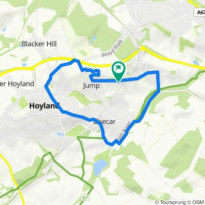 Easy ride in Barnsley