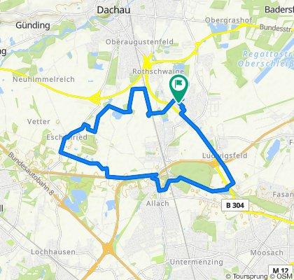 Einfache Fahrt in Karlsfeld