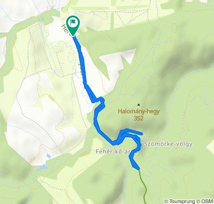 Restful route in Bakonybél