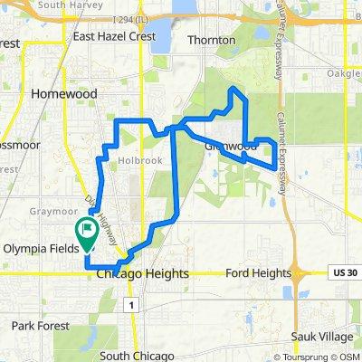 Glenwood 16 Mile Loop revised