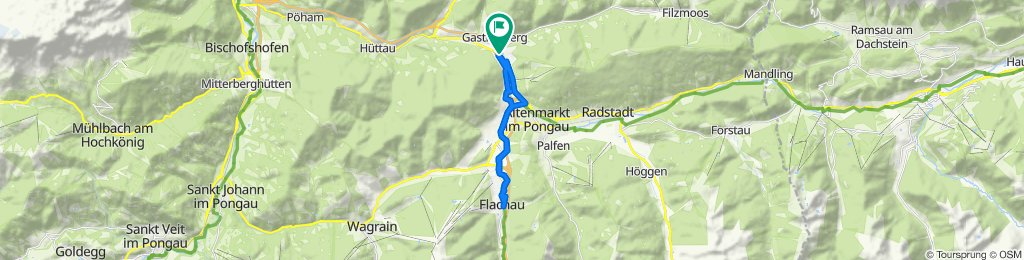 Sportliche Route in Eben im Pongau