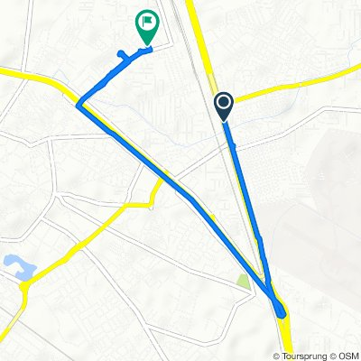 Relaxed route in Ambala