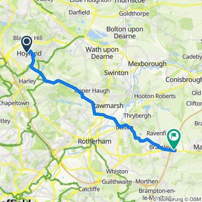 109 Longfields Crescent, Barnsley to Sandbeck Way, Rotherham