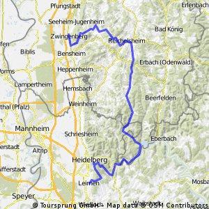 Zwingenberg- Odenwald- Leimen