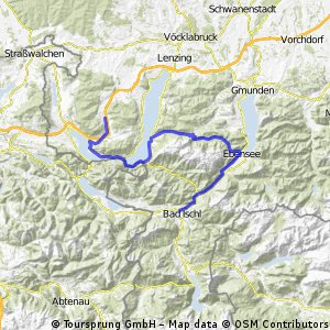 5. den - Bad Ischl, Traunsee, Attersee, Modsee, Oberwang