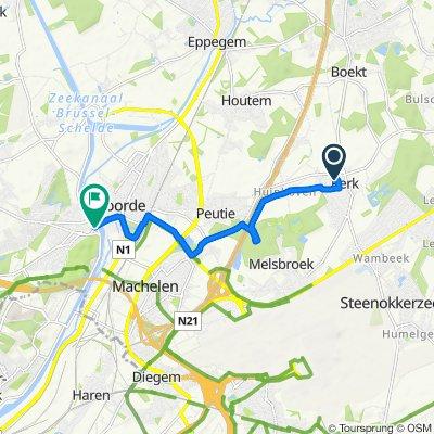 Itinéraire confortable en Vilvorde