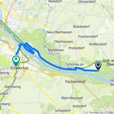 Unnamed Road nach Brauhausstraße 8, Schwechat