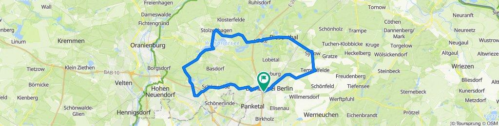 P6 - Um Bernau - ESV Lok Schöneweide Berlin