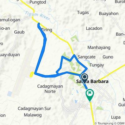 Sta Barbara By-Pass Road, Santa Barbara to Iloilo-Capiz New Route, Santa Barbara