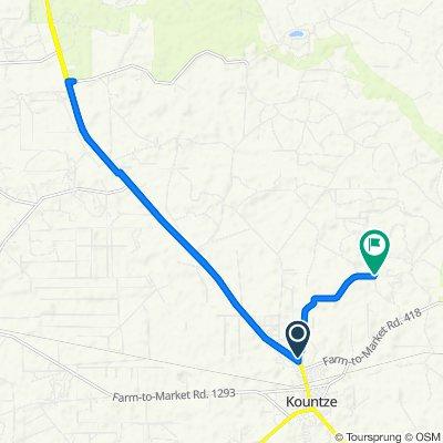 Ride in Kountze on the Domane 6.2