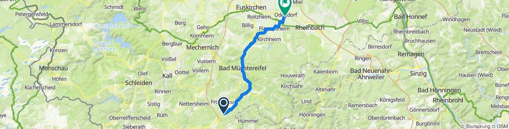 Mechernicher Straße 5, Nettersheim nach In der Freiheit 17, Swisttal
