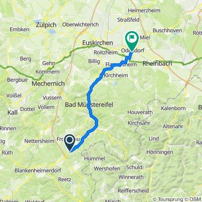 30Km-Mechernicher Straße 5, Nettersheim nach In der Freiheit 17, Swisttal