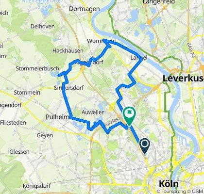Gemütliche Rundtour im Kölner Norden