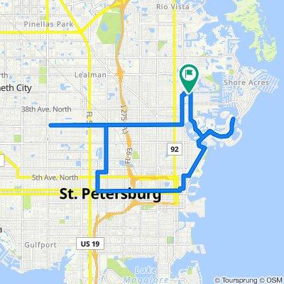 Blistering ride in Saint Petersburg