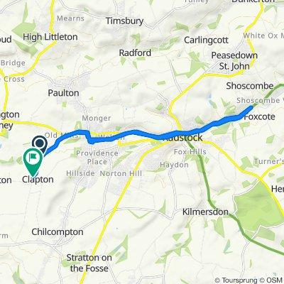 Langley's Lane, Radstock to Langley's Lane, Radstock