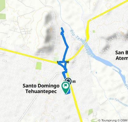 De Del Deporte 30, Tehuantepec a Calle Río Atoyac 14, Tehuantepec