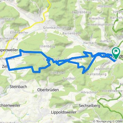 Afterwork- Trekking- Tour Murrhardt-Eschelhof- Zell- Murrhardt