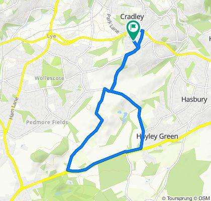44 Tanhouse Lane, Birmingham to 44 Tanhouse Lane, Birmingham