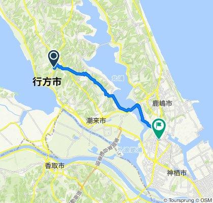 3378-6, Namegata to 1456-73, Kamisu